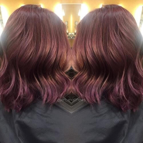 medium-length-burgundy-hair