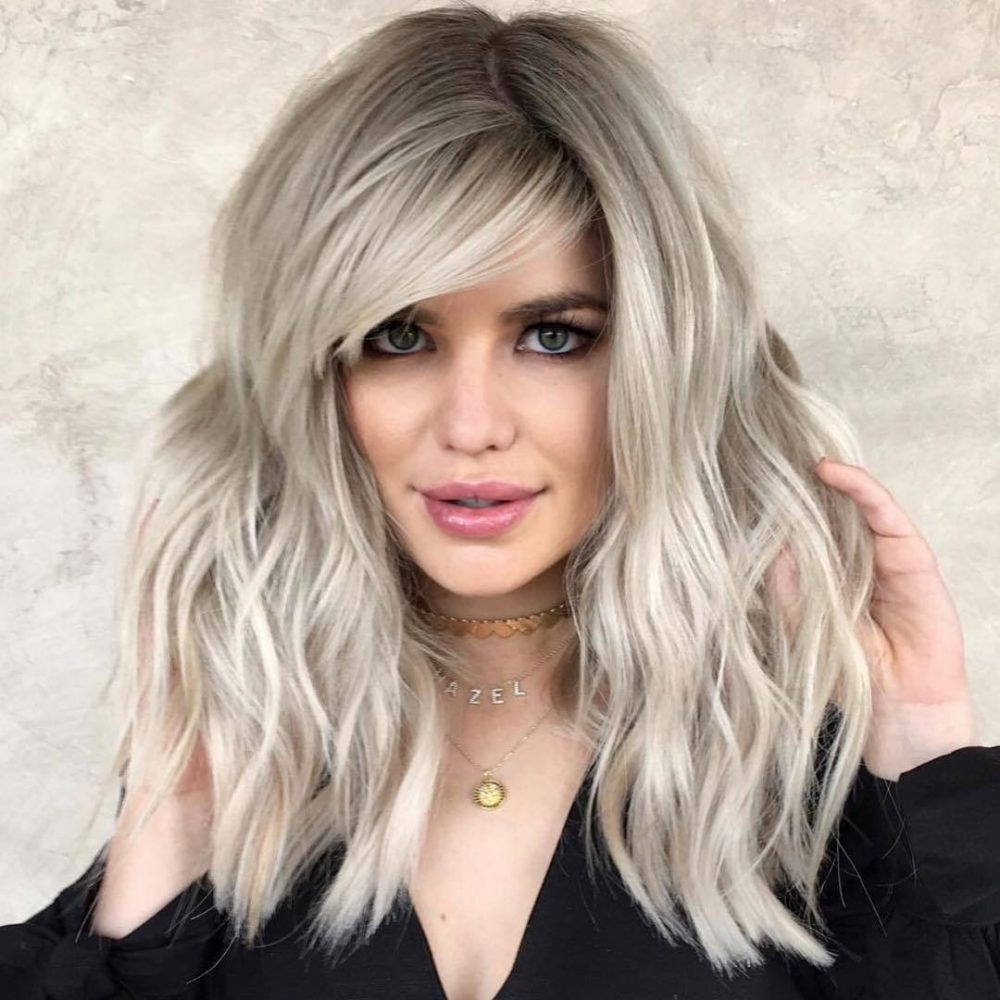 The Top 20 Flattering Side Bangs Hairstyles Trending In 2020