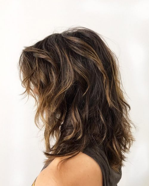 Mid Length Layered Hairstyles For Thick Hair 9