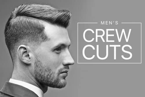 Mens crew cuts