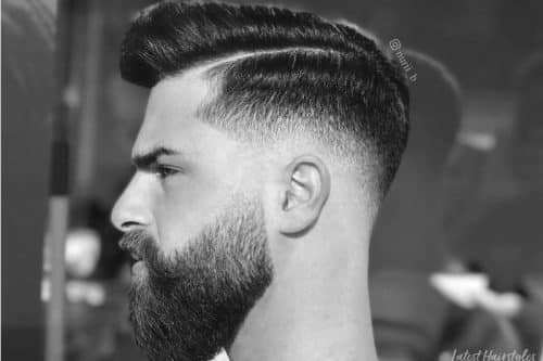 2021 S Best Men S Hair Styles Cuts Pomps Fades Side Parts Slicked