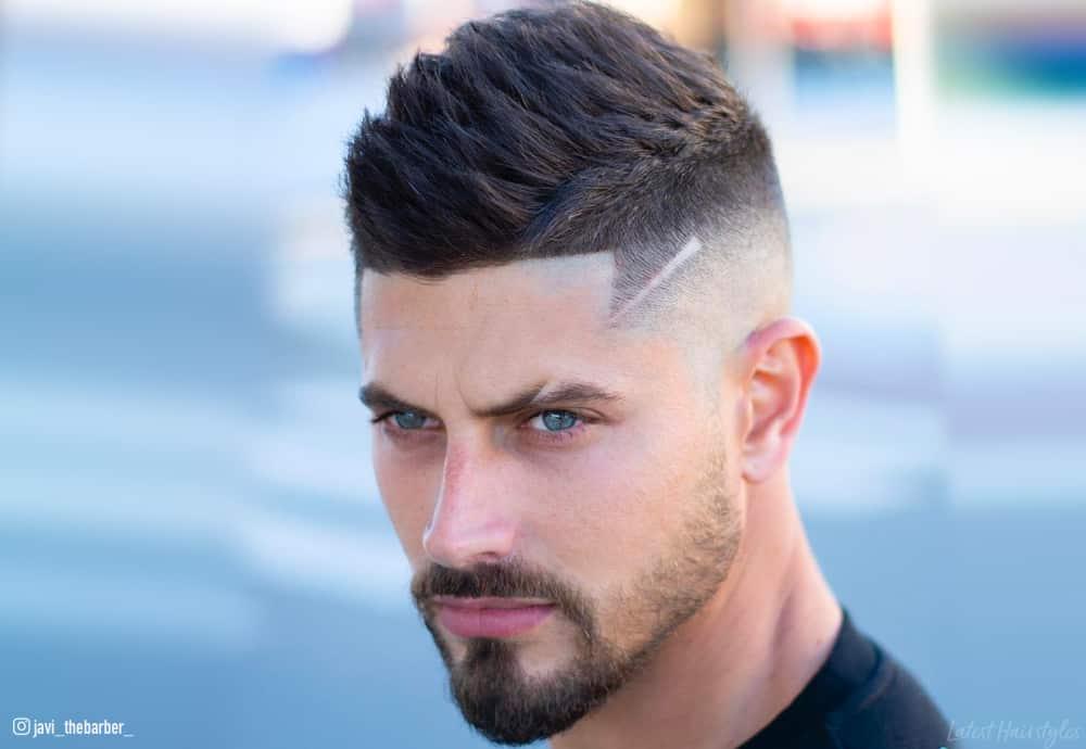 15 Lit Faux Hawk Fade Haircuts For Men In 2019
