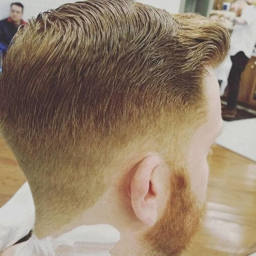 mens pomp haircut