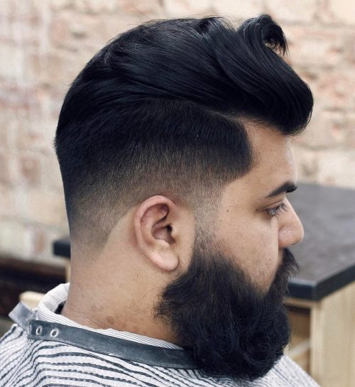 A Fun Mid Fade Cut For Thick Hair