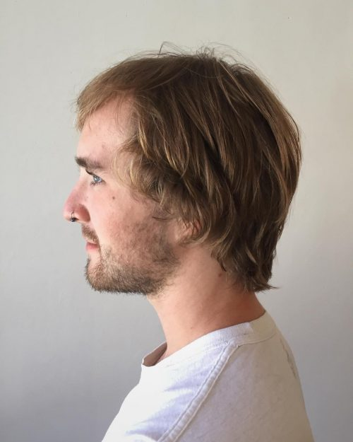Men's Shag hairstyle