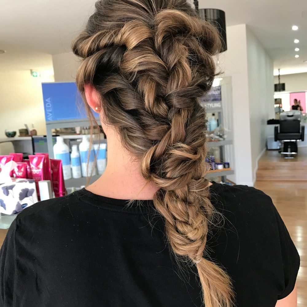 Mermaid Hair hairstyle