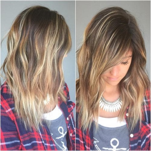 Mermaid Shag hairstyle