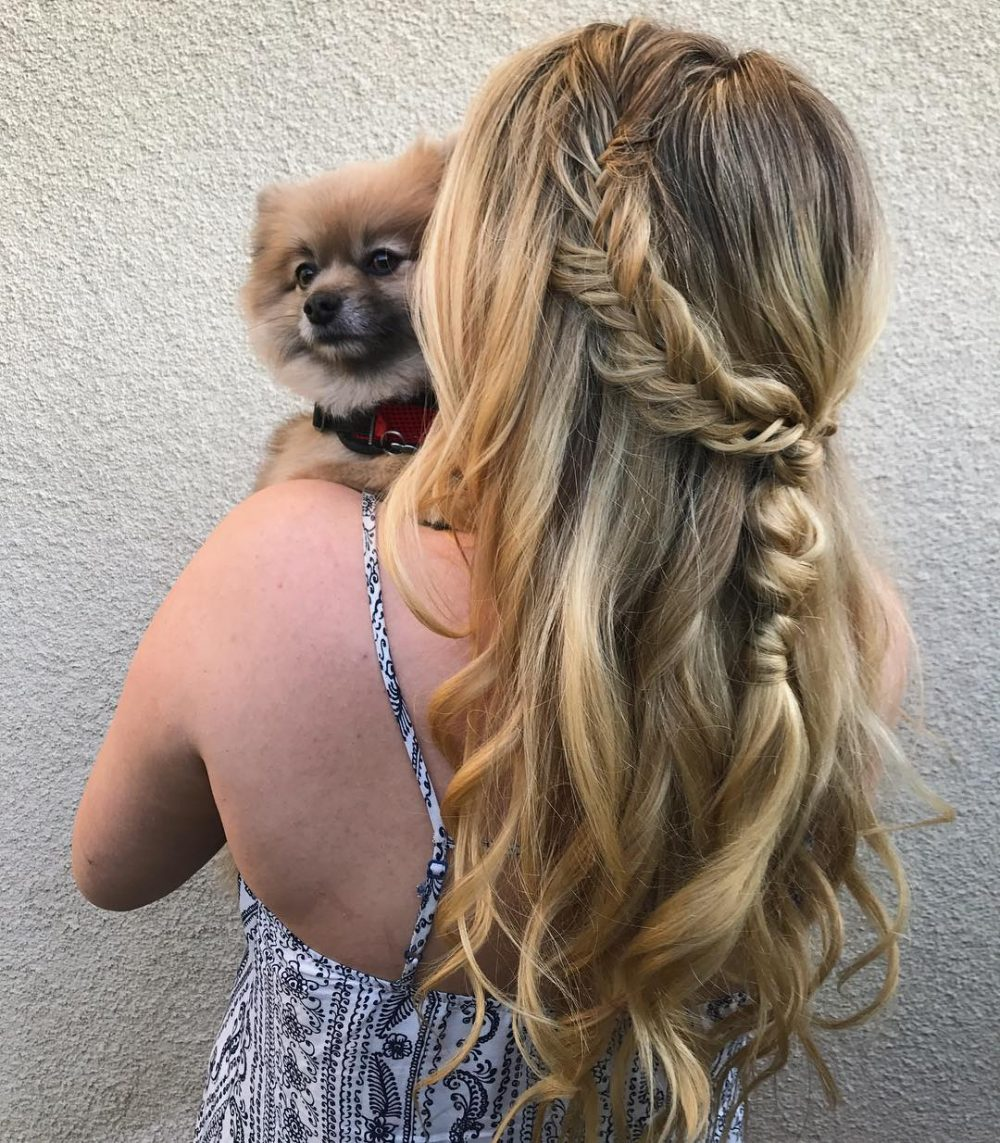 Messy Boho Braid. Messy Boho Braid Hairstyle