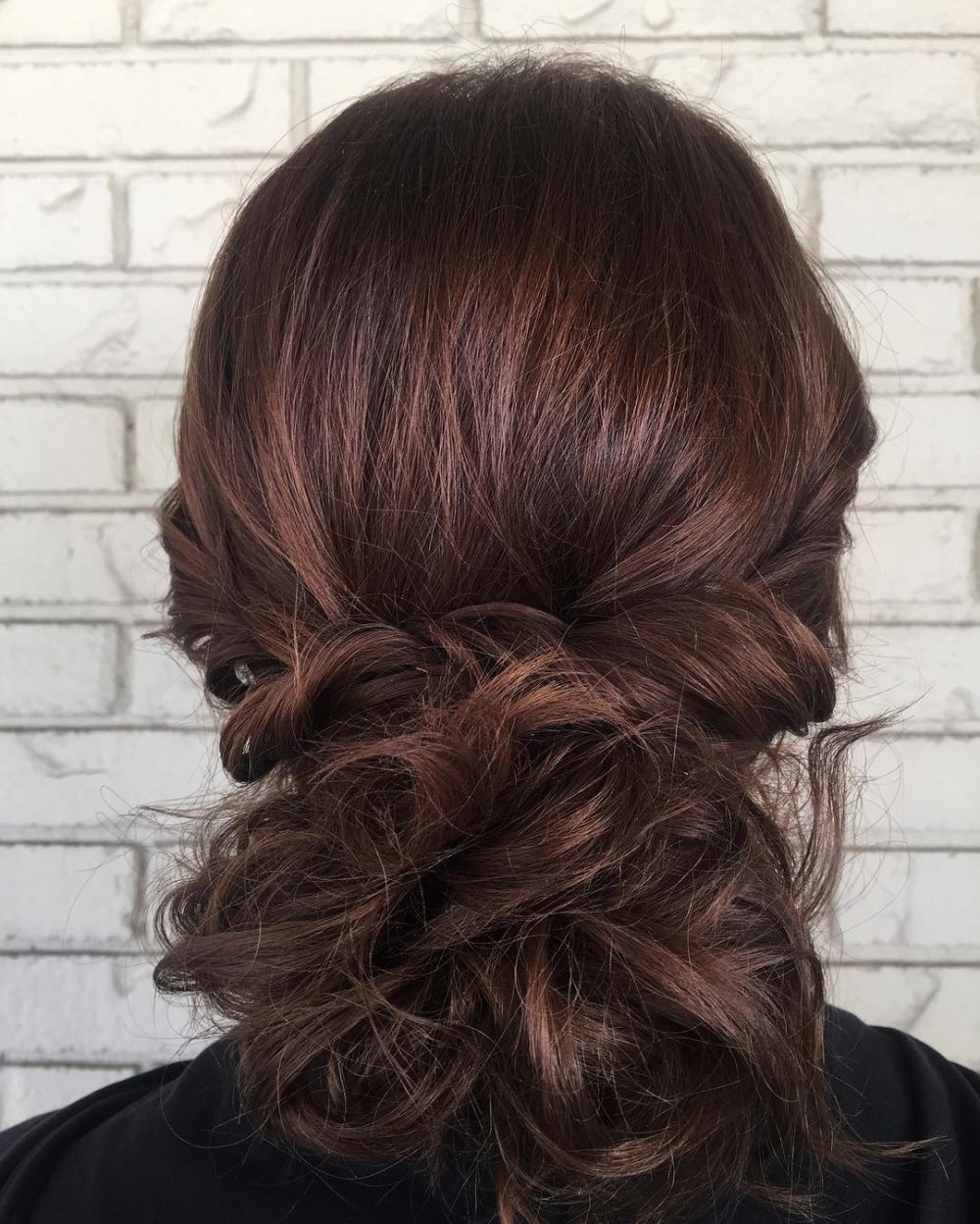Messy Chic Updo hairstyle