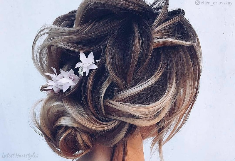 18 Iest Messy Updos You Ll See In 2020