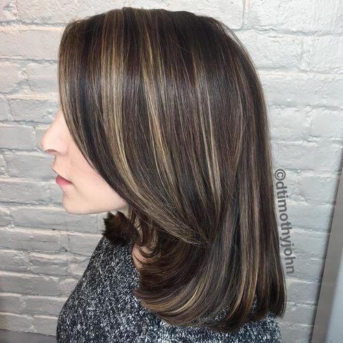 mid length hair for women over 50