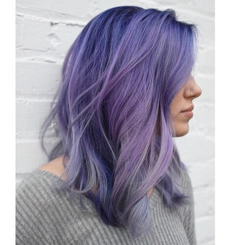 23 Purple Hair Color Ideas Trending In 2018
