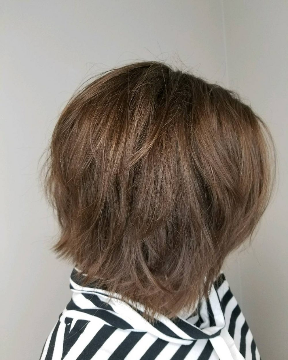 Mid-Length Textured Bob hairstyle
