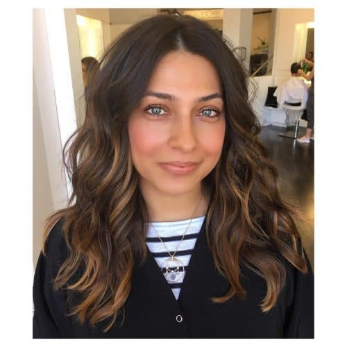 Mid-Length Layers hairstyle