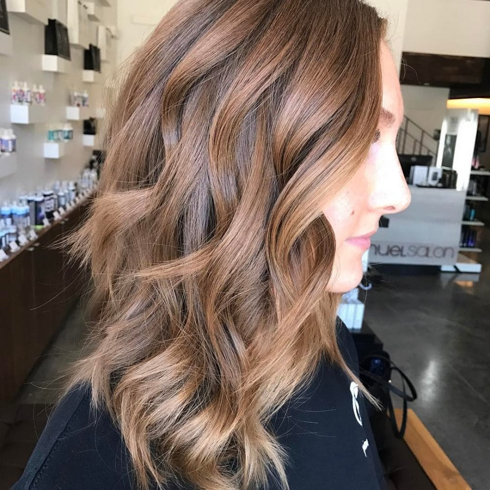 Mid-Length Waves hairstyle