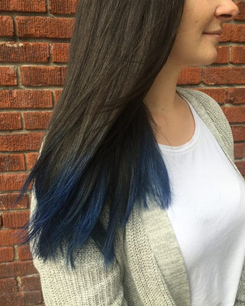 16 Stunning Midnight Blue Hair Colors To See In 2020