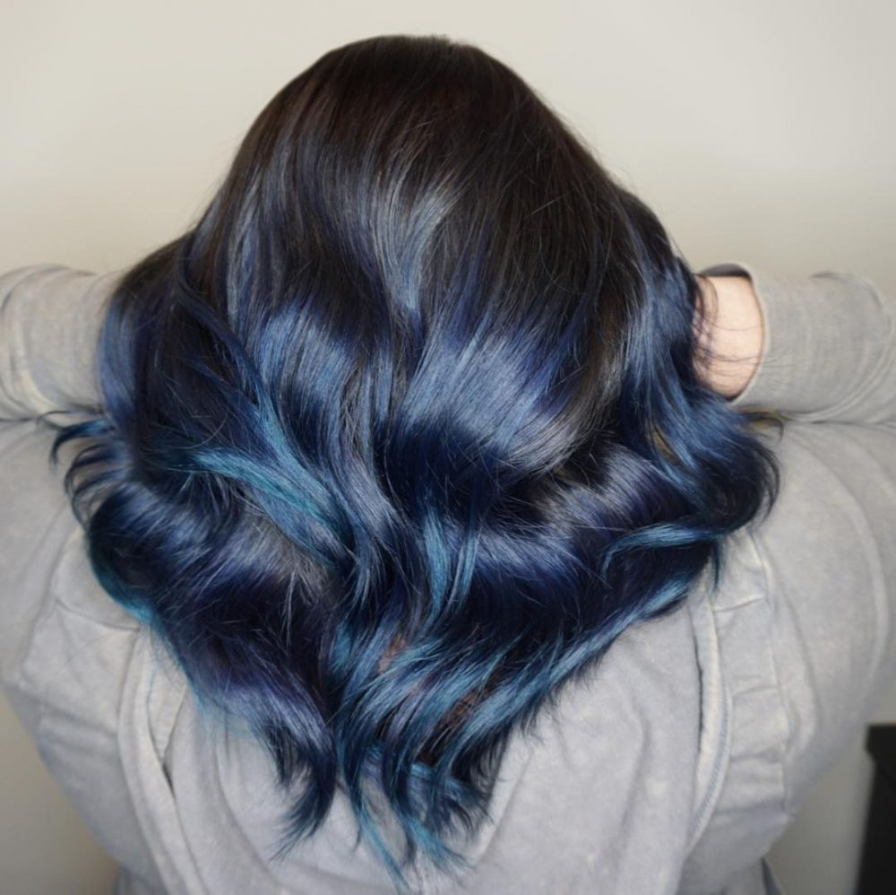Midnight Blue hairstyle