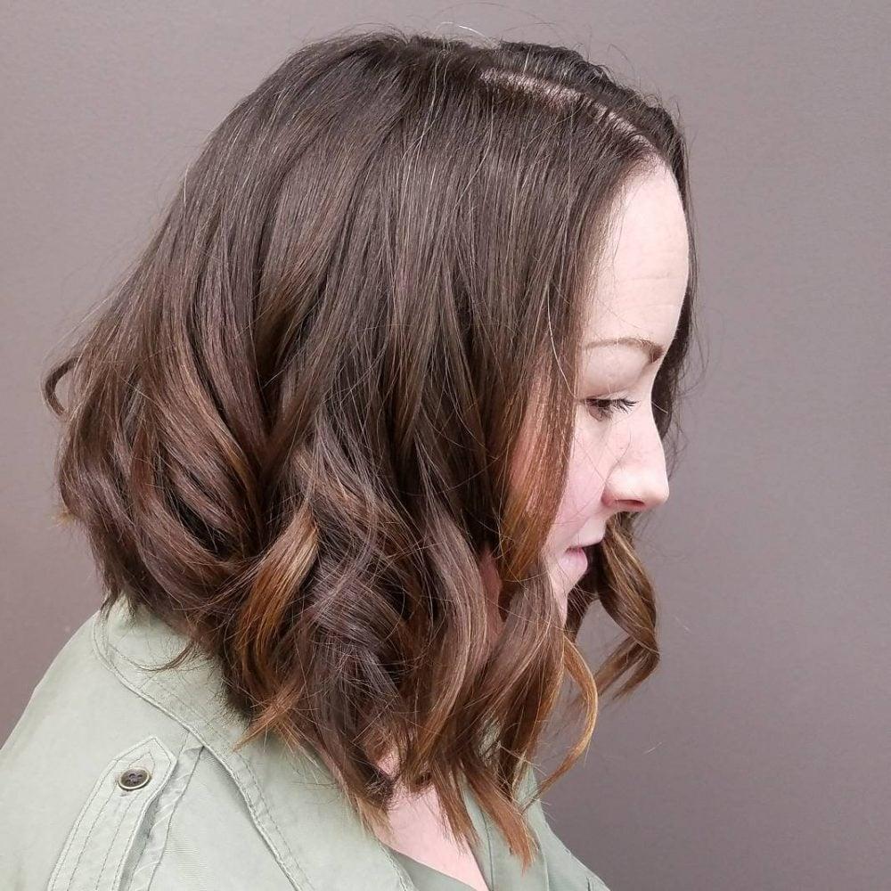 Milk Chocolate Caramel Swirl hairstyle