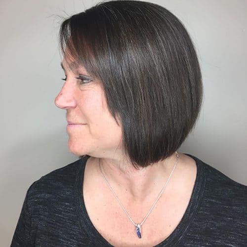 Minimal Graduation hairstyle
