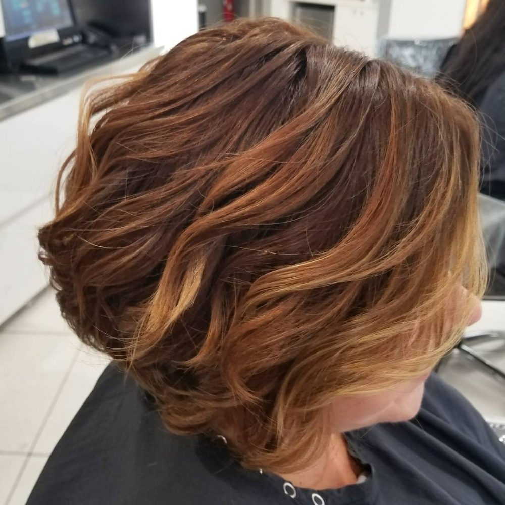 Brown hair with caramel highlights switch up your look mocha mix pmusecretfo Images
