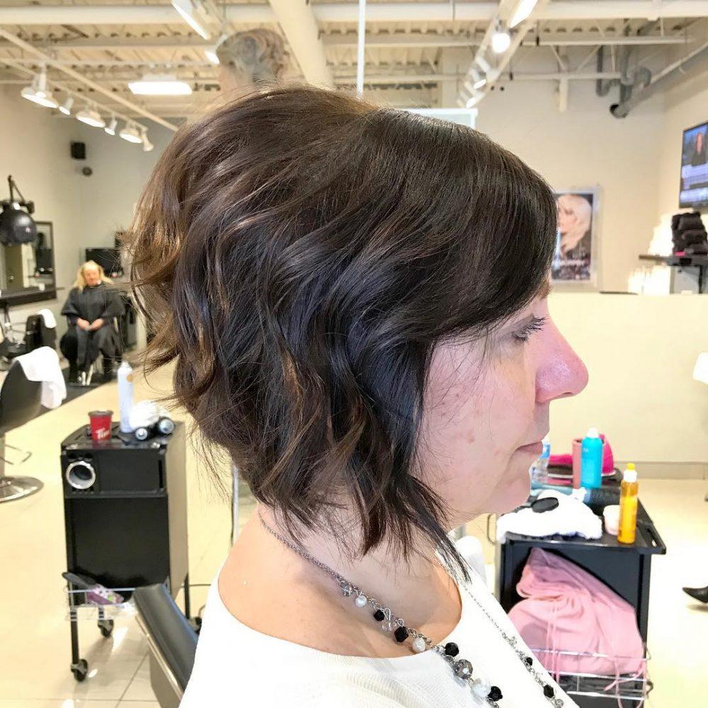 Modern Angled Bob hairstyle