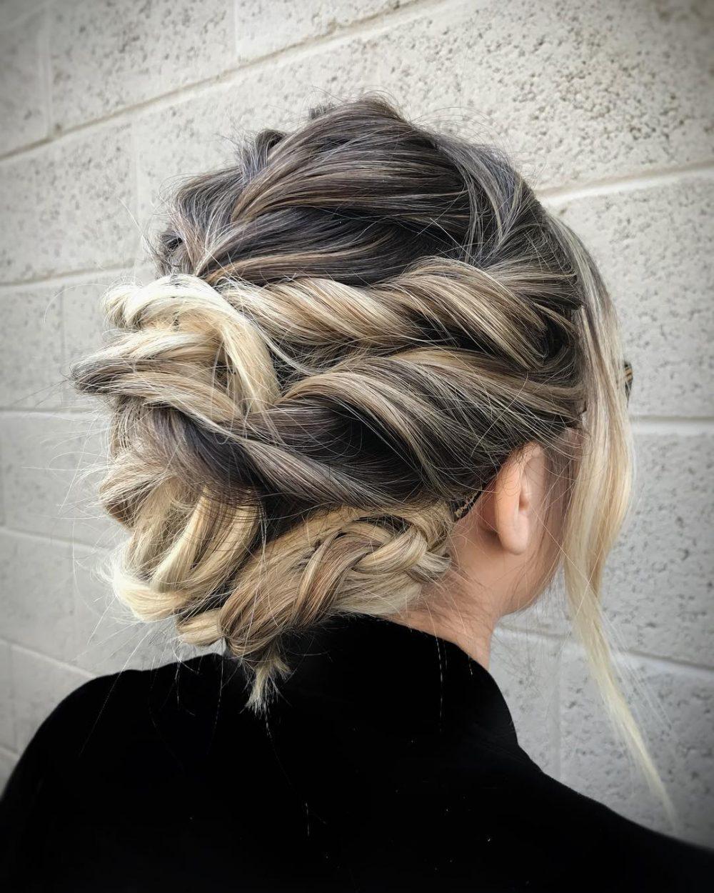 Modern Boho hairstyle