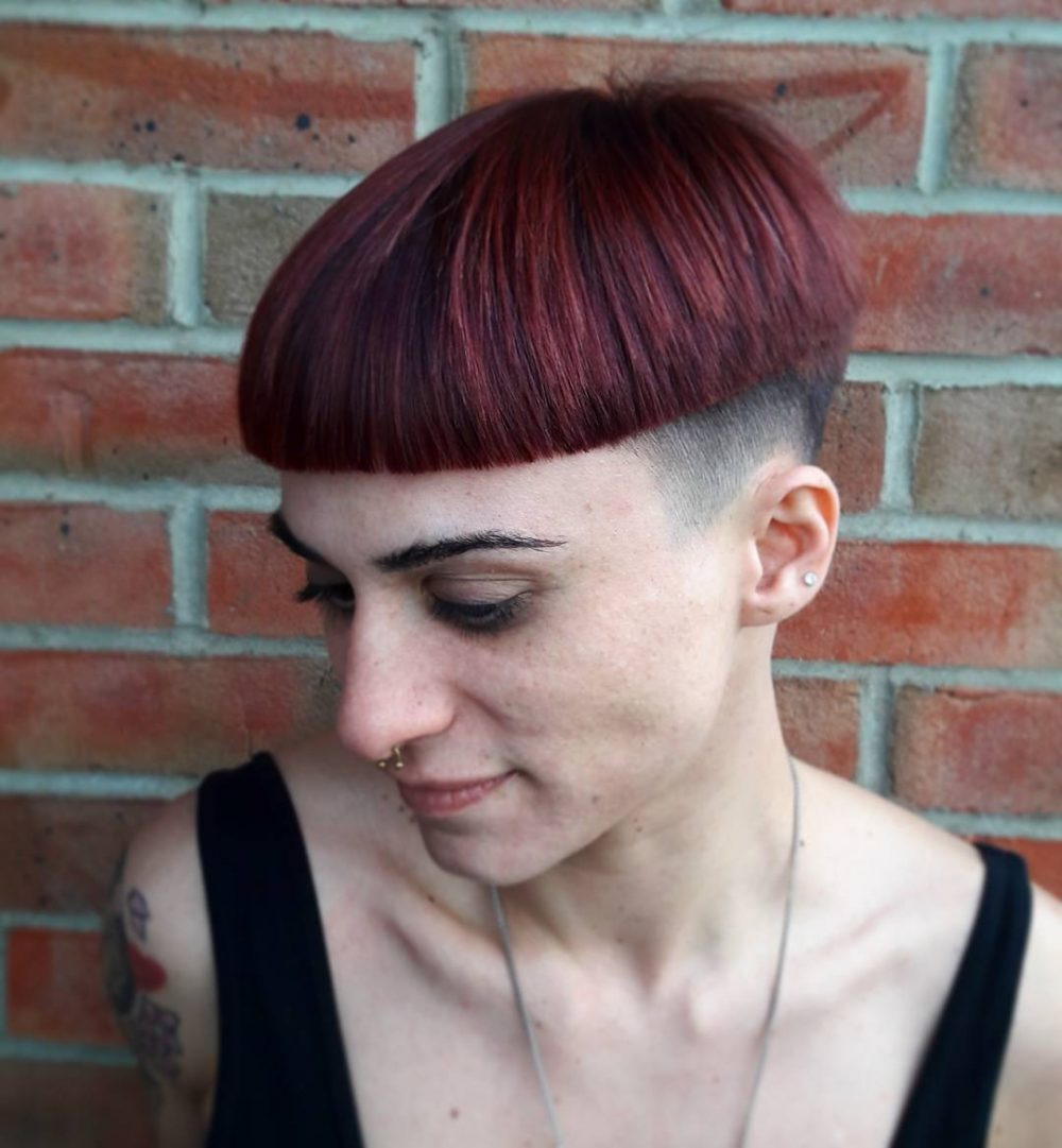 Modern Bowl Haircut hairstyle