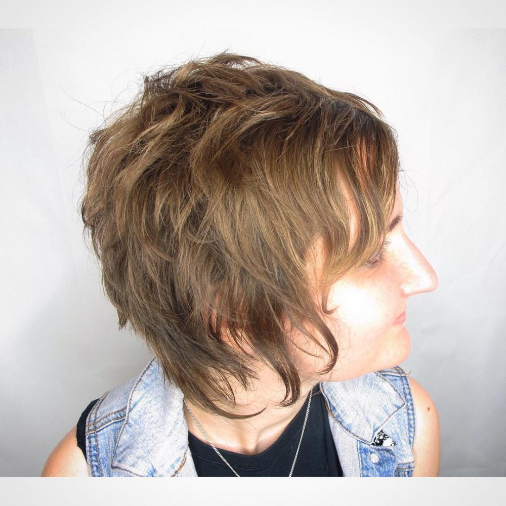 Modern Day Chelsea Cut hairstyle