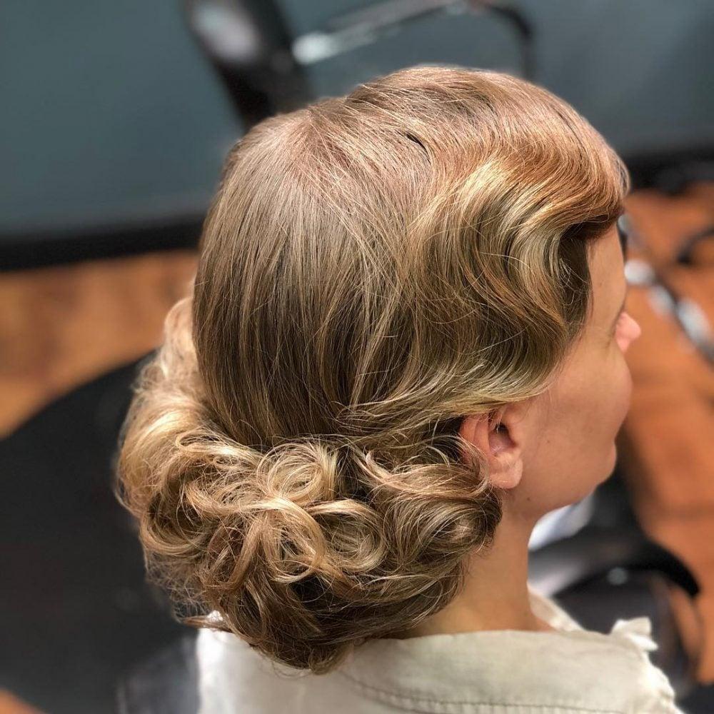 Modern Flapper hairstyle