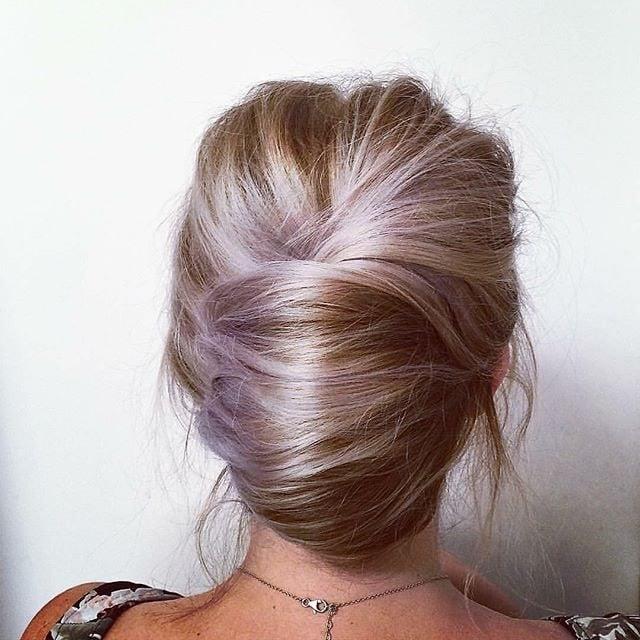 Modern French Twist hairstyle
