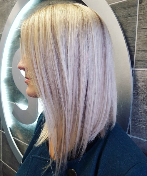 modern long bob haircut