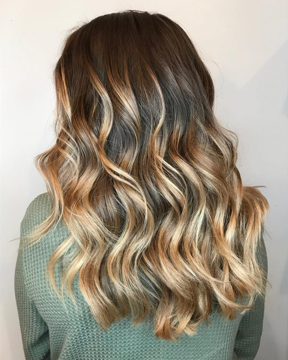 Modern Ombre hairstyle