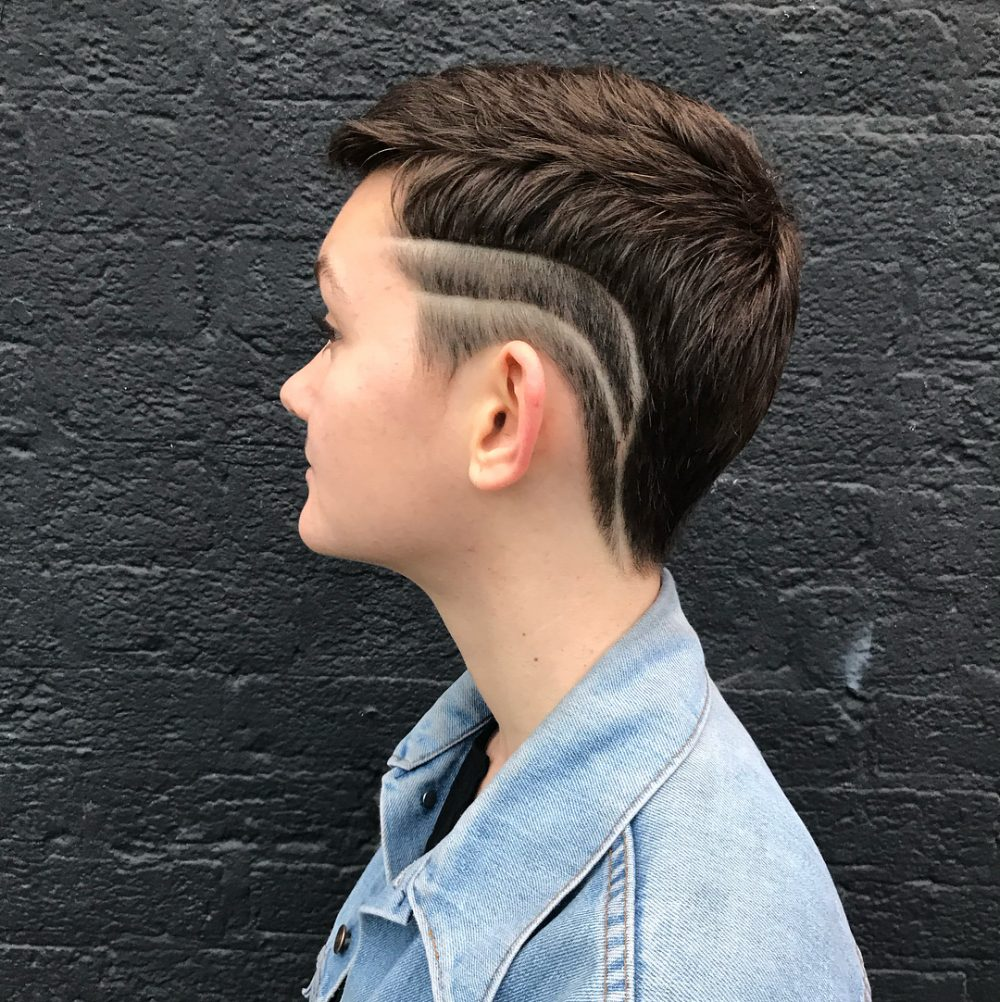 Modern Pixie Cut hairstyle