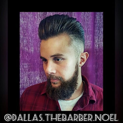 modern pompadour for men