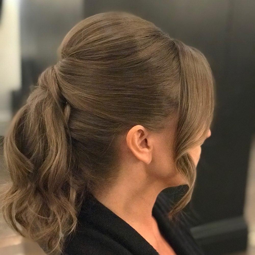 Modern Sleek Look hairstyle