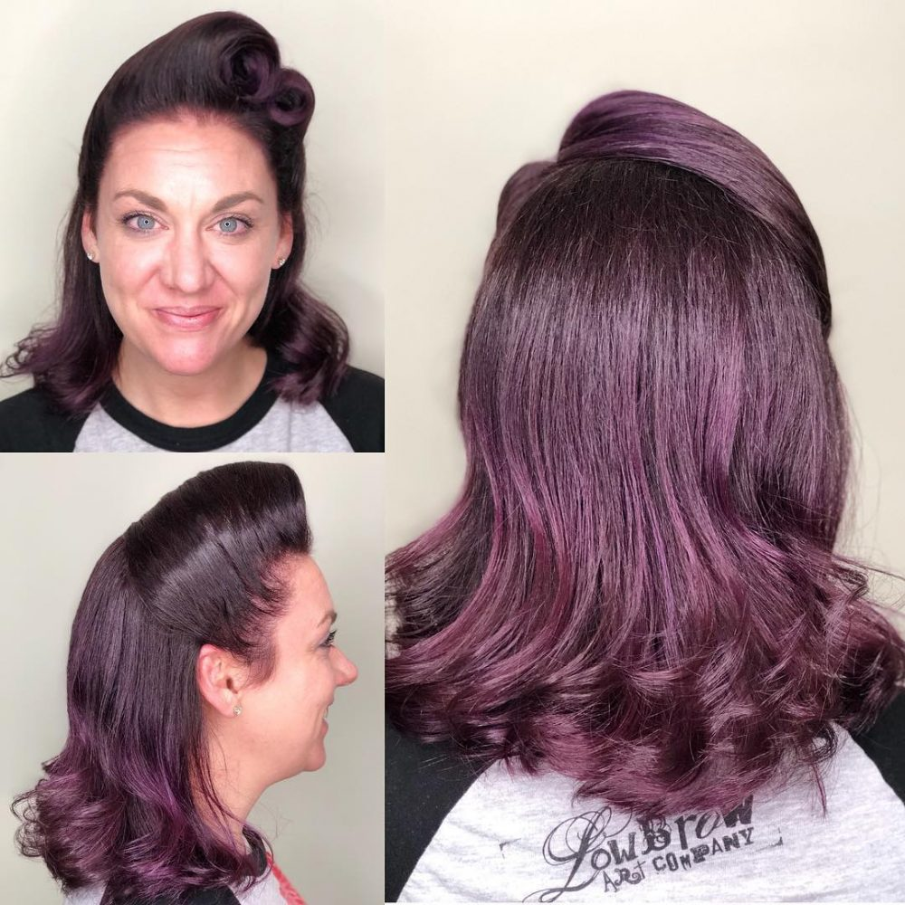 41 pin up hairstyles that scream retro chic tutorials included modern victory roll hairstyle solutioingenieria Image collections