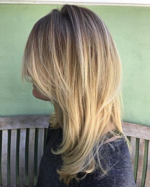Modern Brigitte Bardot hairstyle