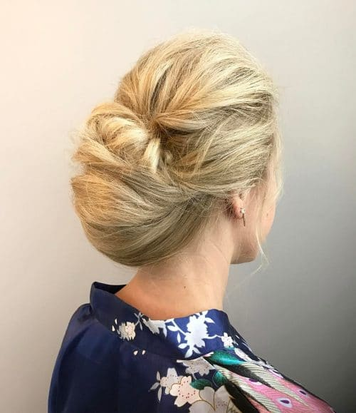 Modern Day Chignon hairstyle