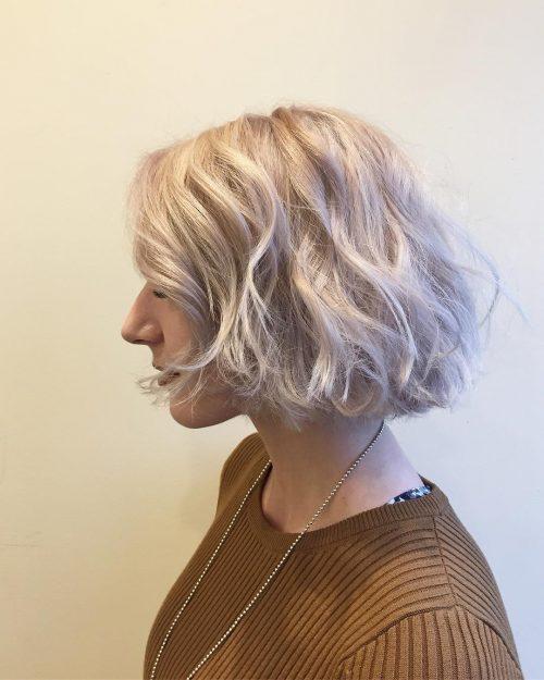 Modern French Bob hairstyle