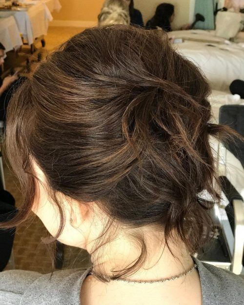 Modern French Twist hairstyle