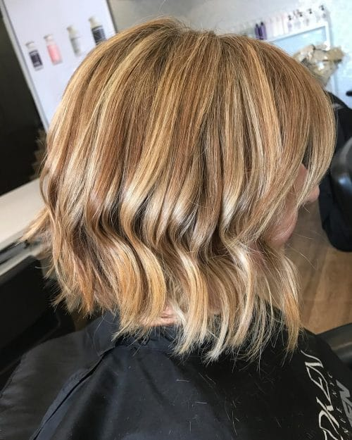 Modern Graduated Bob hairstyle