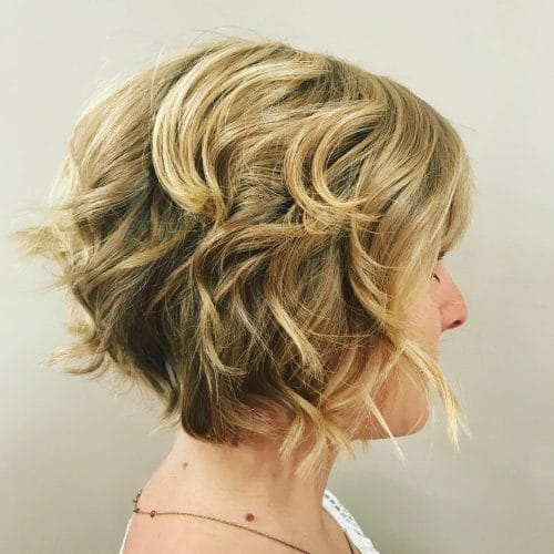 Modern Stack hairstyle