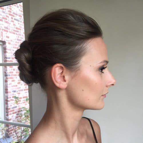 Modern Twisted Bun hairstyle