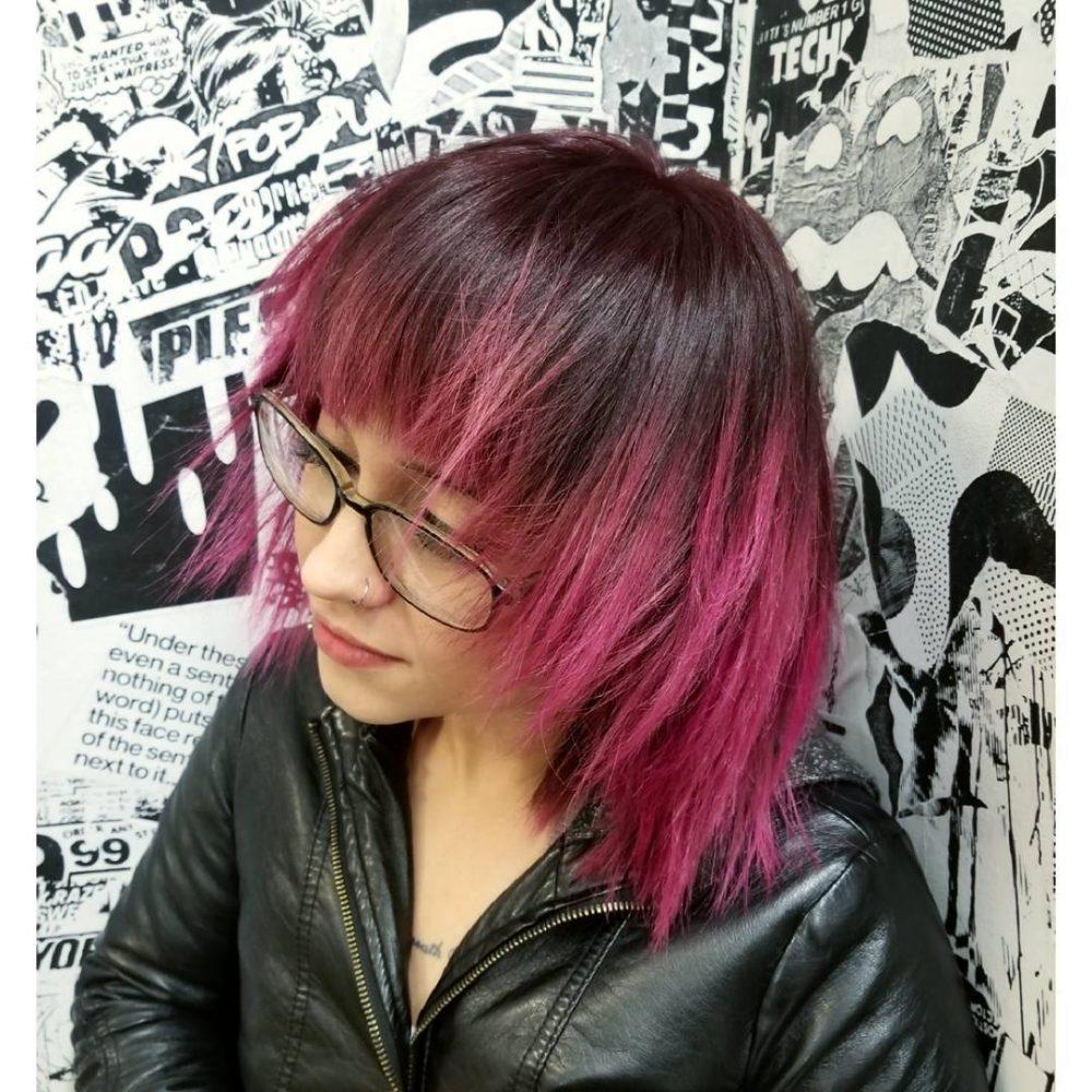 Moody Pop-Punk Look hairstyle