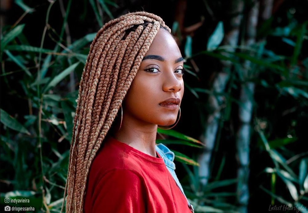 15 Hottest Blonde Box Braids To Try In 2020