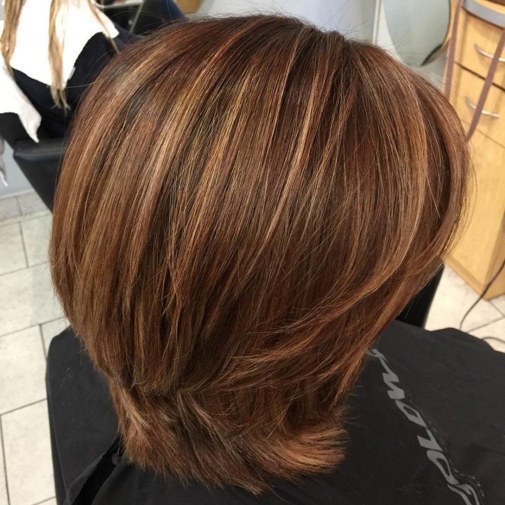 Multi-Dimensional Brunette Balayage hairstyle