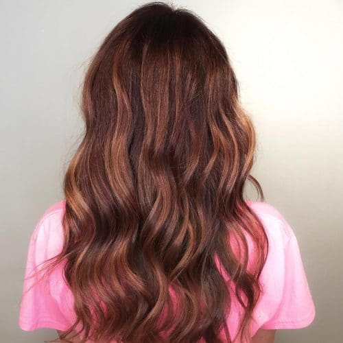 Multi-Tonal Red hairstyle
