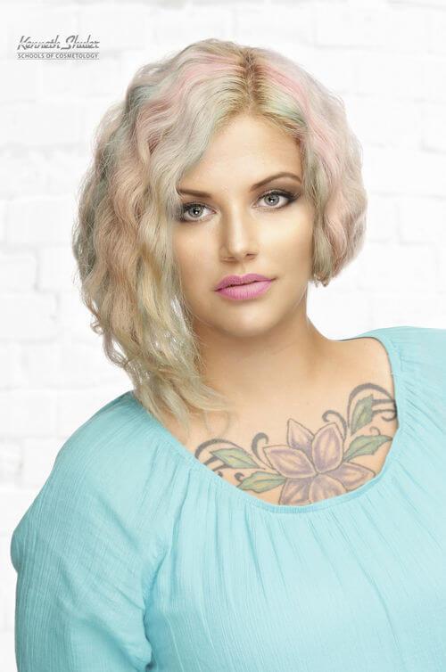 multicolored-short-hair