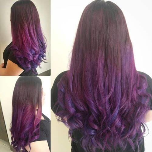 23 Incredible Purple Hair Color Ideas Trending In 2019