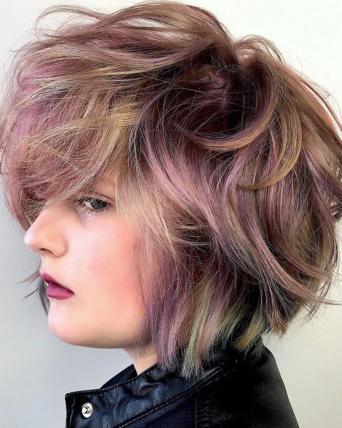 34 Greatest Short Haircuts and Hairstyles for Thick Hair for